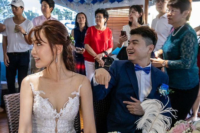 Chris & Candy - A Yacht Wedding by ONE°15 Marina Sentosa Cove, Singapore - 027