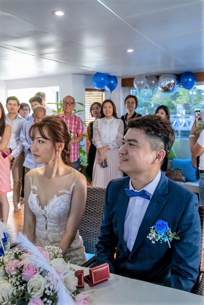 Chris & Candy - A Yacht Wedding by ONE°15 Marina Sentosa Cove, Singapore - 029