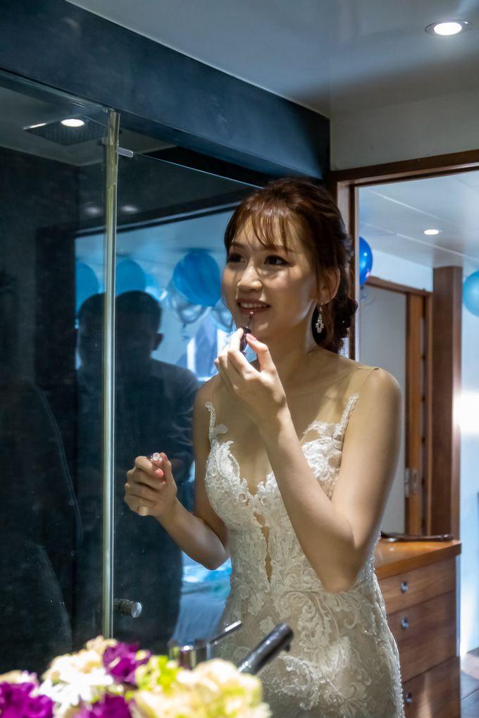 Chris & Candy - A Yacht Wedding by ONE°15 Marina Sentosa Cove, Singapore - 049
