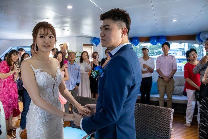 Chris & Candy - A Yacht Wedding by ONE°15 Marina Sentosa Cove, Singapore - 033