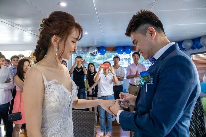 Chris & Candy - A Yacht Wedding by ONE°15 Marina Sentosa Cove, Singapore - 034