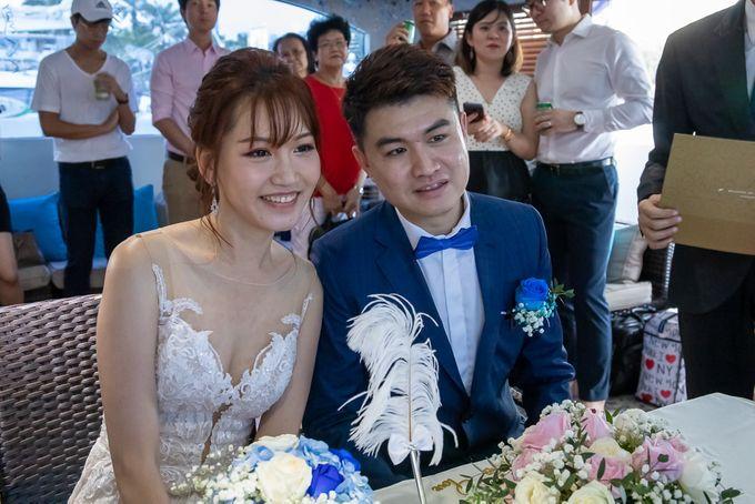 Chris & Candy - A Yacht Wedding by ONE°15 Marina Sentosa Cove, Singapore - 036