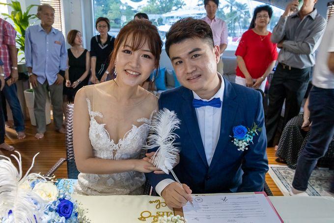 Chris & Candy - A Yacht Wedding by ONE°15 Marina Sentosa Cove, Singapore - 037