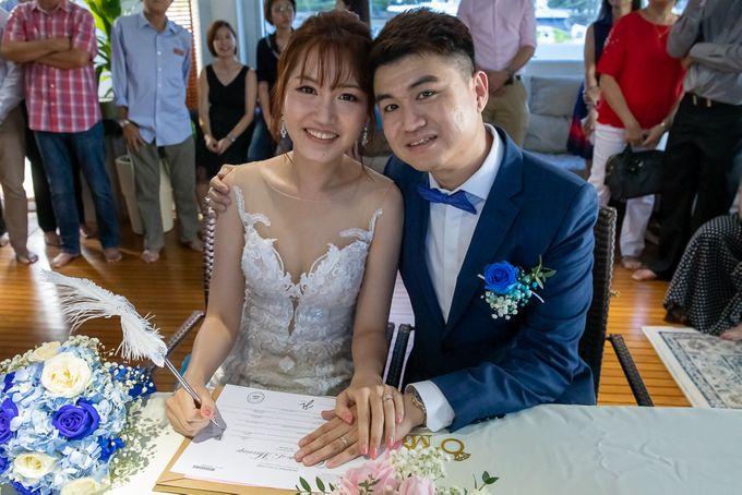 Chris & Candy - A Yacht Wedding by ONE°15 Marina Sentosa Cove, Singapore - 038