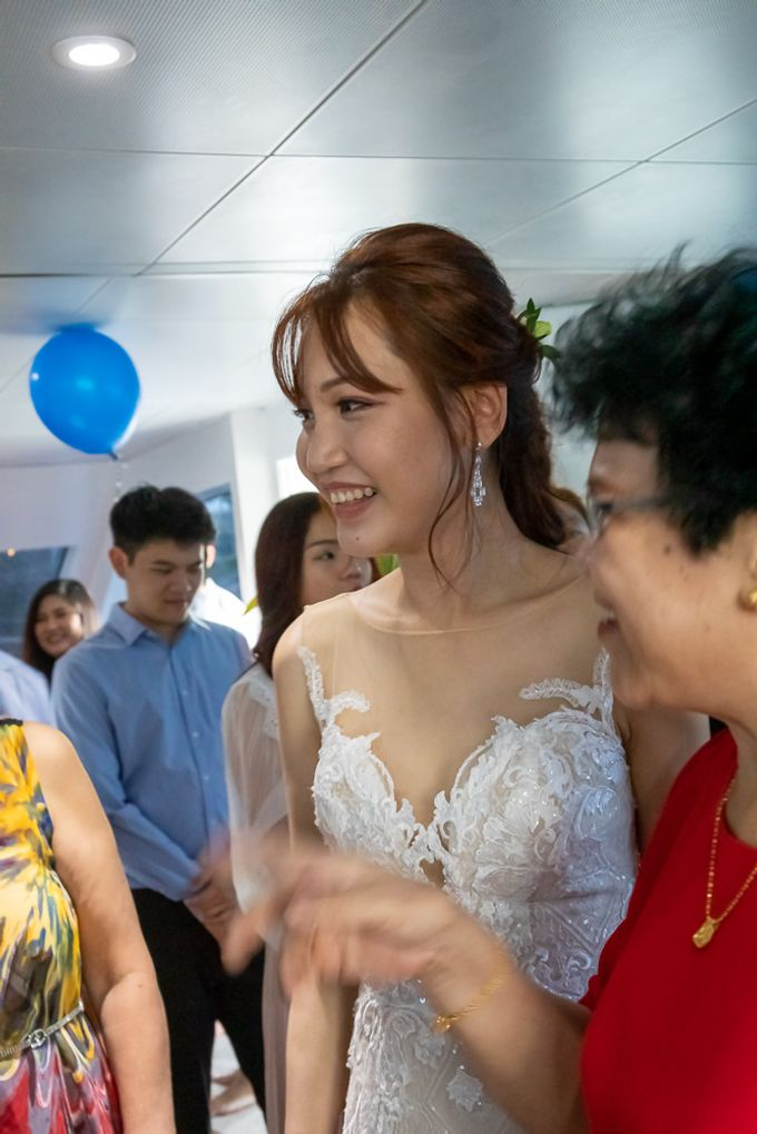 Chris & Candy - A Yacht Wedding by ONE°15 Marina Sentosa Cove, Singapore - 039