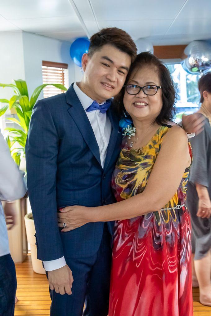 Chris & Candy - A Yacht Wedding by ONE°15 Marina Sentosa Cove, Singapore - 040