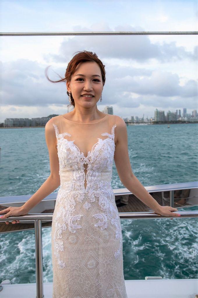 Chris & Candy - A Yacht Wedding by ONE°15 Marina Sentosa Cove, Singapore - 041