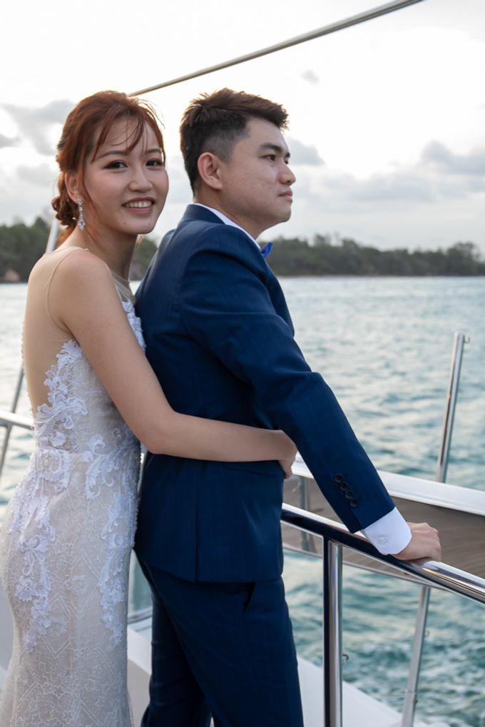 Chris & Candy - A Yacht Wedding by ONE°15 Marina Sentosa Cove, Singapore - 042