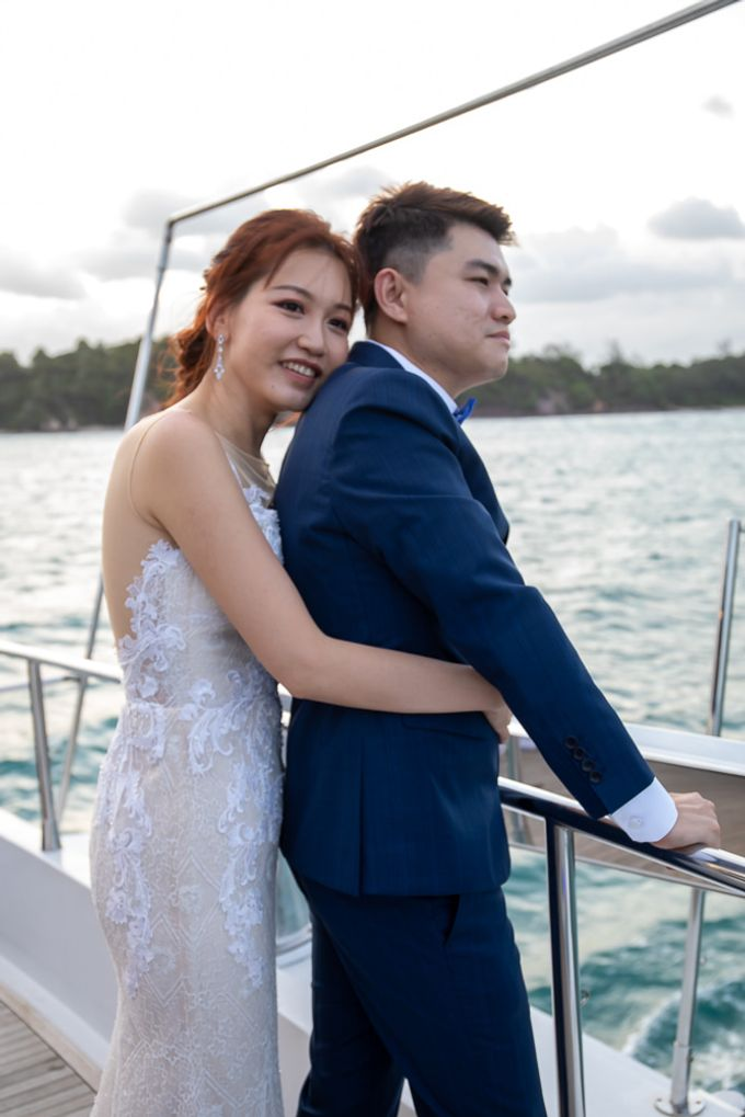 Chris & Candy - A Yacht Wedding by ONE°15 Marina Sentosa Cove, Singapore - 043