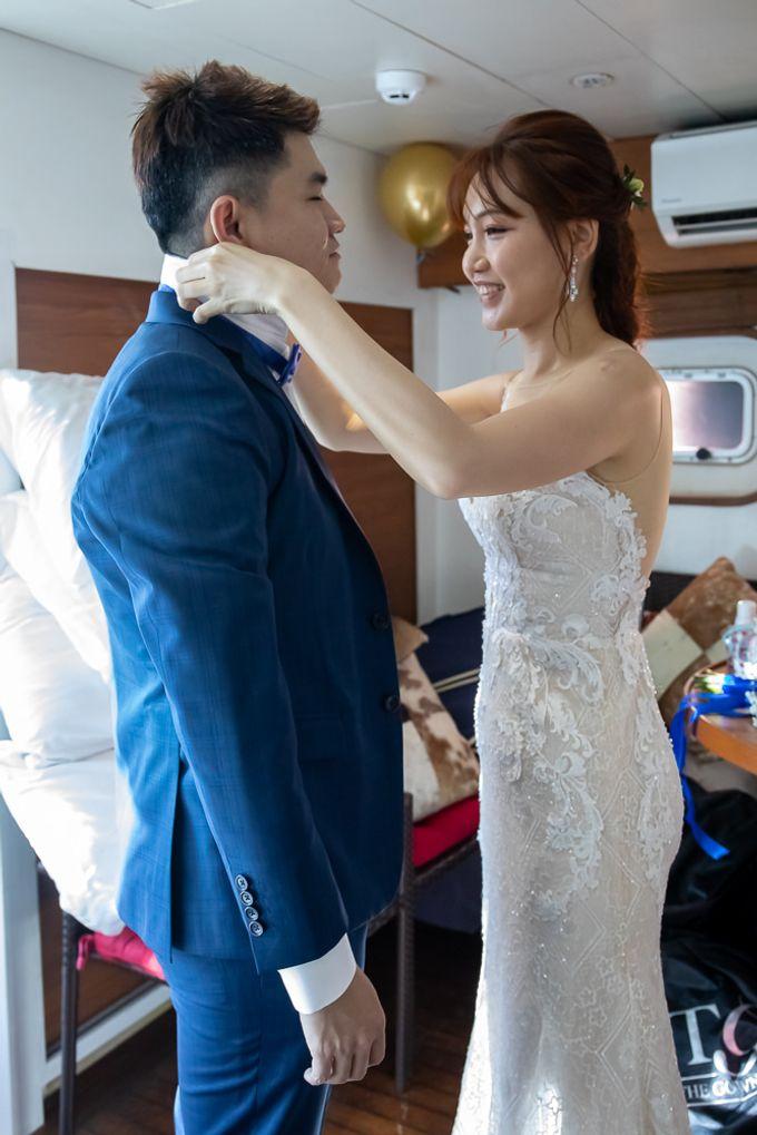 Chris & Candy - A Yacht Wedding by ONE°15 Marina Sentosa Cove, Singapore - 001