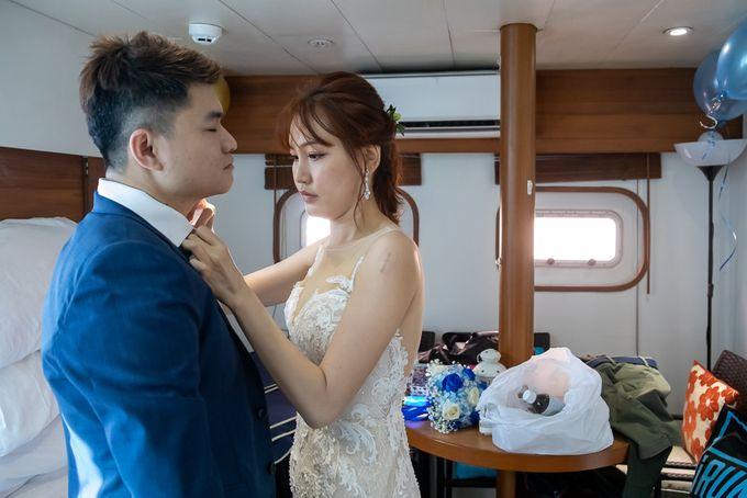 Chris & Candy - A Yacht Wedding by ONE°15 Marina Sentosa Cove, Singapore - 002