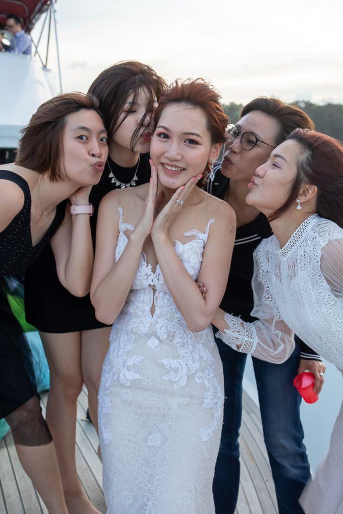 Chris & Candy - A Yacht Wedding by ONE°15 Marina Sentosa Cove, Singapore - 044