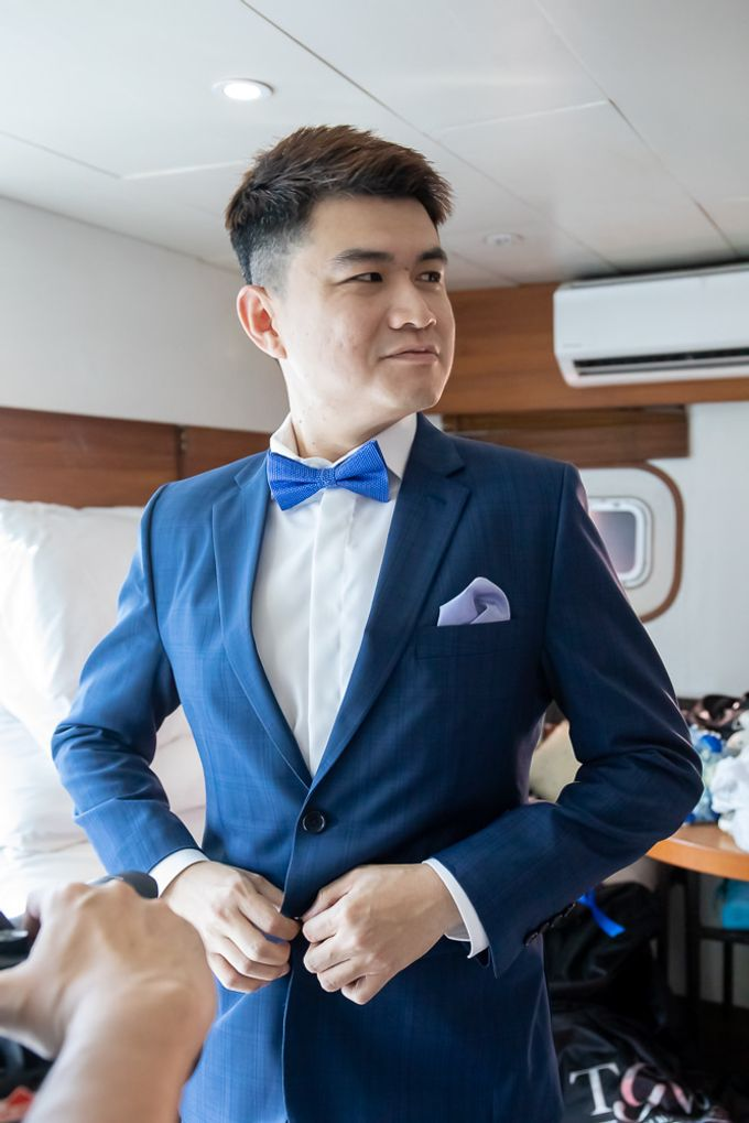 Chris & Candy - A Yacht Wedding by ONE°15 Marina Sentosa Cove, Singapore - 003