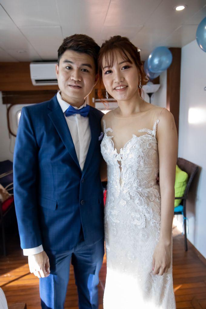 Chris & Candy - A Yacht Wedding by ONE°15 Marina Sentosa Cove, Singapore - 004
