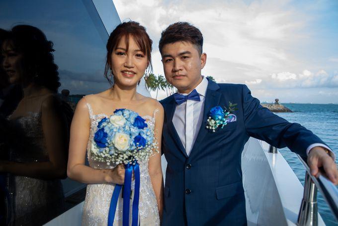 Chris & Candy - A Yacht Wedding by ONE°15 Marina Sentosa Cove, Singapore - 006