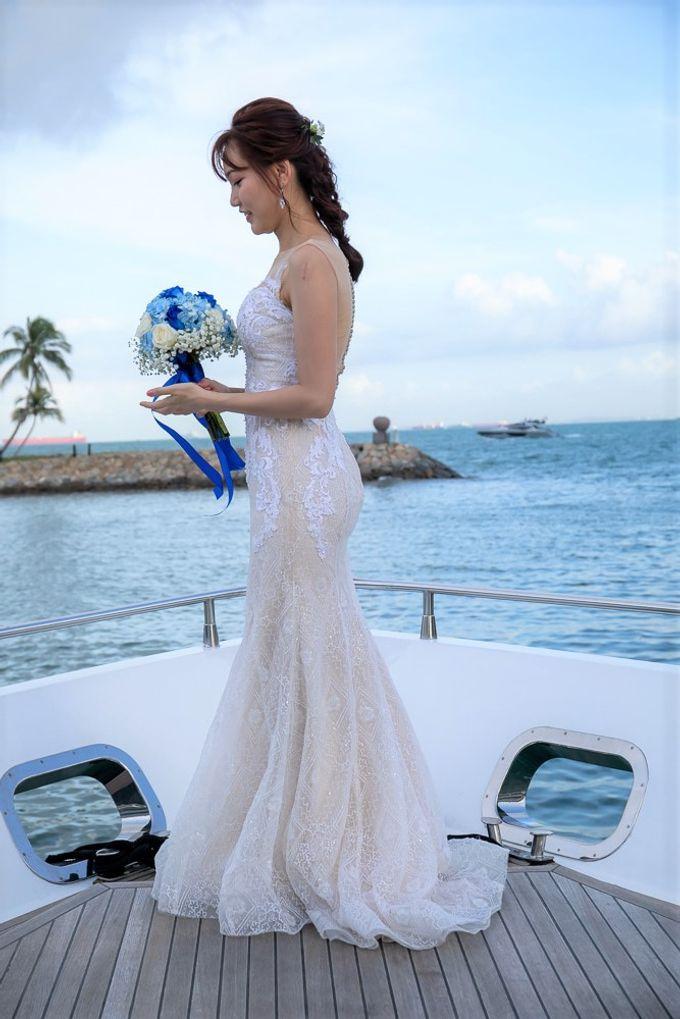 Chris & Candy - A Yacht Wedding by ONE°15 Marina Sentosa Cove, Singapore - 007