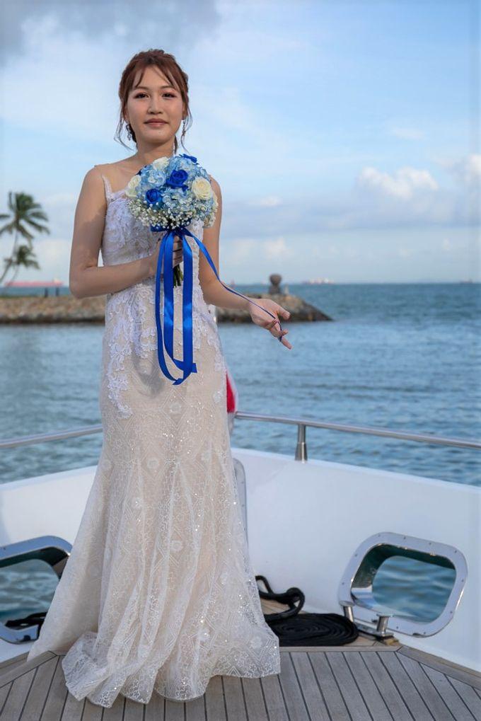 Chris & Candy - A Yacht Wedding by ONE°15 Marina Sentosa Cove, Singapore - 008