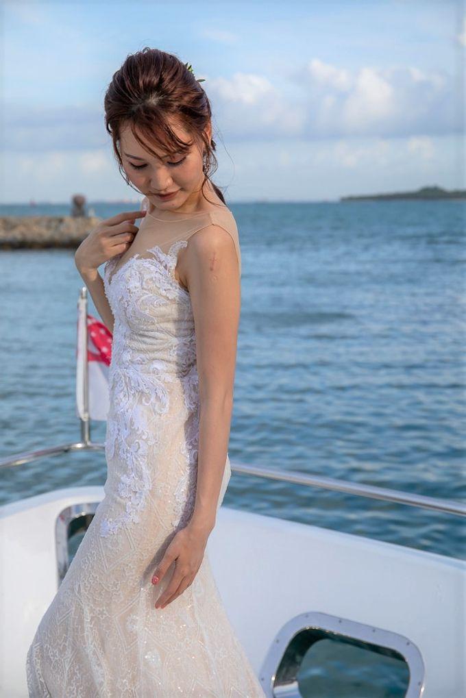 Chris & Candy - A Yacht Wedding by ONE°15 Marina Sentosa Cove, Singapore - 009