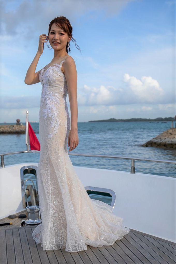 Chris & Candy - A Yacht Wedding by ONE°15 Marina Sentosa Cove, Singapore - 010