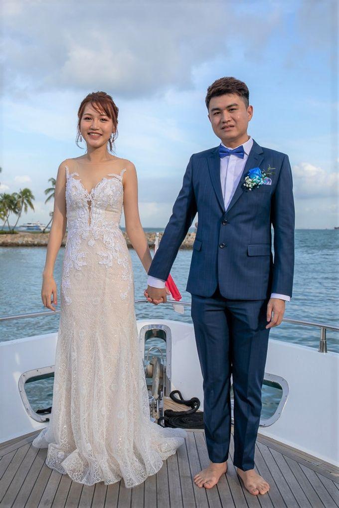 Chris & Candy - A Yacht Wedding by ONE°15 Marina Sentosa Cove, Singapore - 011