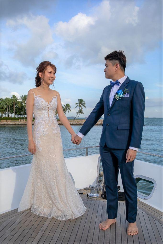 Chris & Candy - A Yacht Wedding by ONE°15 Marina Sentosa Cove, Singapore - 012