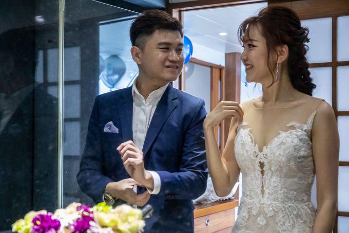 Chris & Candy - A Yacht Wedding by ONE°15 Marina Sentosa Cove, Singapore - 047