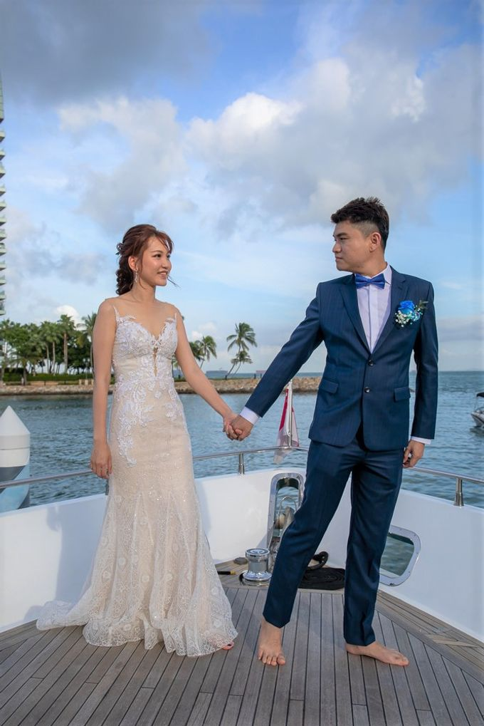 Chris & Candy - A Yacht Wedding by ONE°15 Marina Sentosa Cove, Singapore - 013