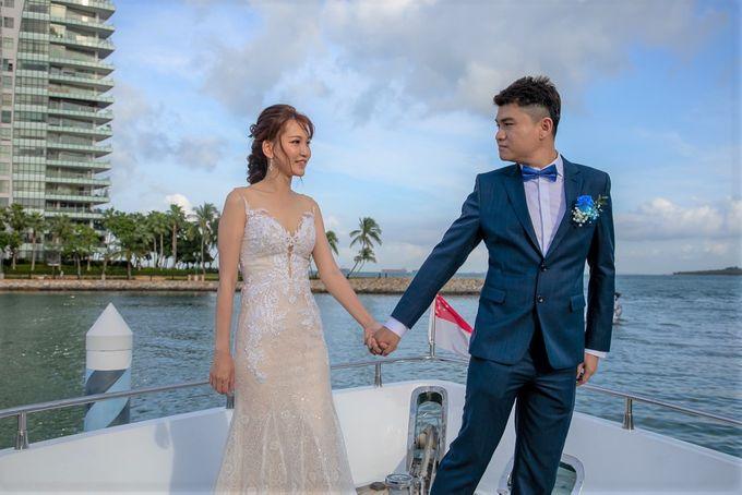 Chris & Candy - A Yacht Wedding by ONE°15 Marina Sentosa Cove, Singapore - 014