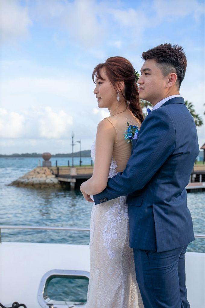 Chris & Candy - A Yacht Wedding by ONE°15 Marina Sentosa Cove, Singapore - 015