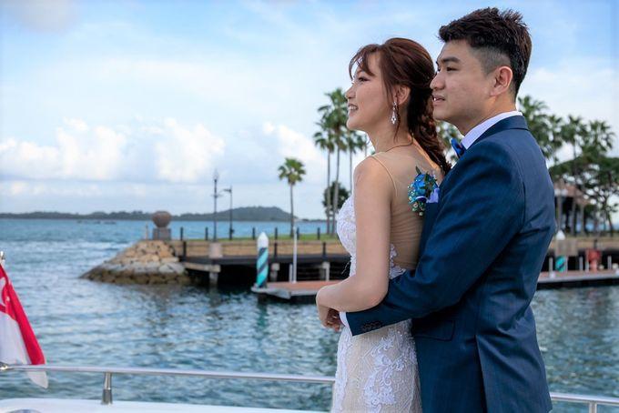 Chris & Candy - A Yacht Wedding by ONE°15 Marina Sentosa Cove, Singapore - 016