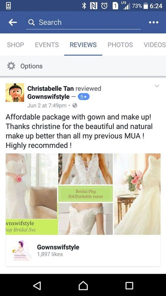 Reviews from Clients by Makeupwifstyle - 003