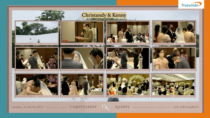 Christandy & Kenny Virtual Online Wedding Live Streaming Holy Matrimony by Truevindo - 001