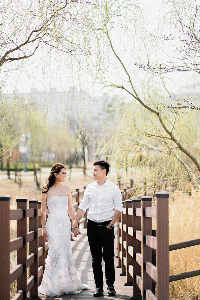 Together With You Is My Favorite Place to Be - The Prewedding and Wedding of Christian and Lusiana by Aha by Axioo - 018