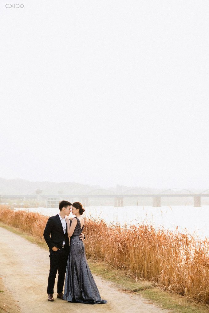 Together With You Is My Favorite Place to Be - The Prewedding and Wedding of Christian and Lusiana by Aha by Axioo - 019