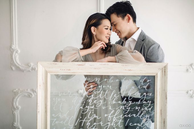 Together With You Is My Favorite Place to Be - The Prewedding and Wedding of Christian and Lusiana by Aha by Axioo - 025