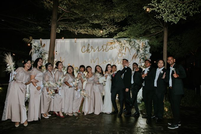THE WEDDING OF CHRISTOPHER & MONICA by Cerita Bahagia - 008