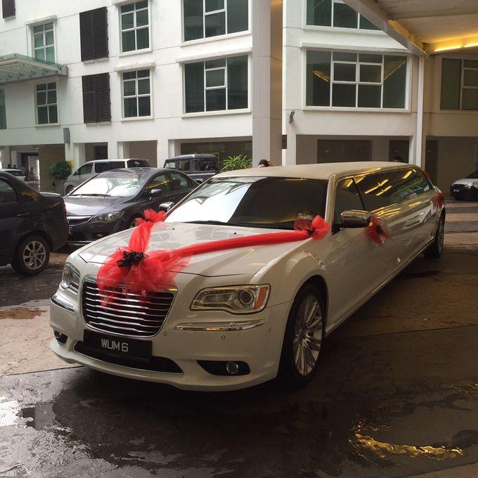 Wedding Car Rental - Chrysler 300 Limousine by Hyperlux Dolce Vita Sdn Bhd - 001