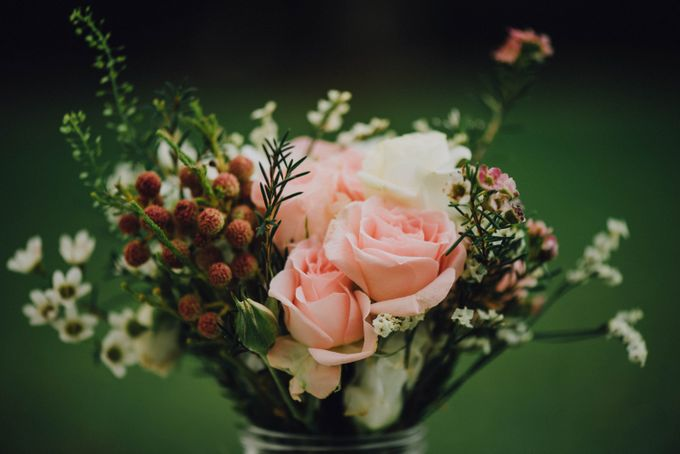 Beauty and the Beast Garden Wedding by Blossoms Bridal & Occasions - 004