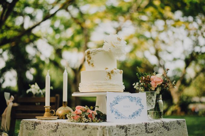 Beauty and the Beast Garden Wedding by Blossoms Bridal & Occasions - 005