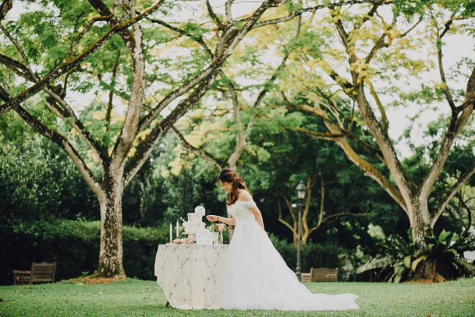 Beauty and the Beast (Garden wedding) by Baby Cakes - 004