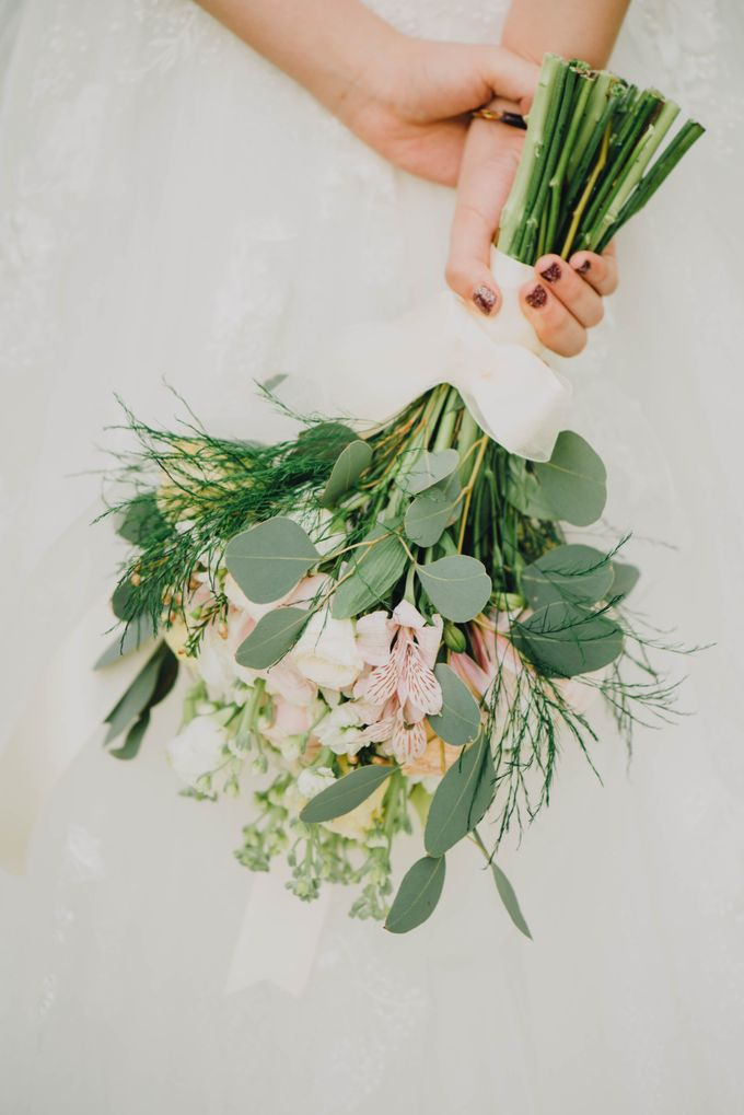 Beauty and the Beast Garden Wedding by Blossoms Bridal & Occasions - 015
