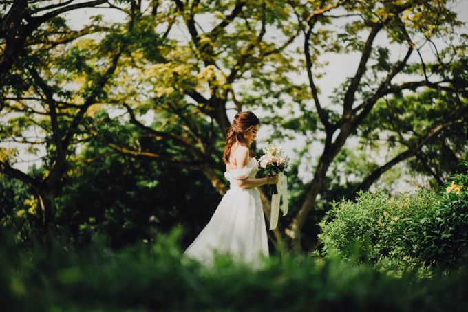 Beauty and the Beast Garden Wedding by Blossoms Bridal & Occasions - 016