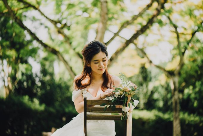Beauty and the Beast Garden Wedding by Blossoms Bridal & Occasions - 017