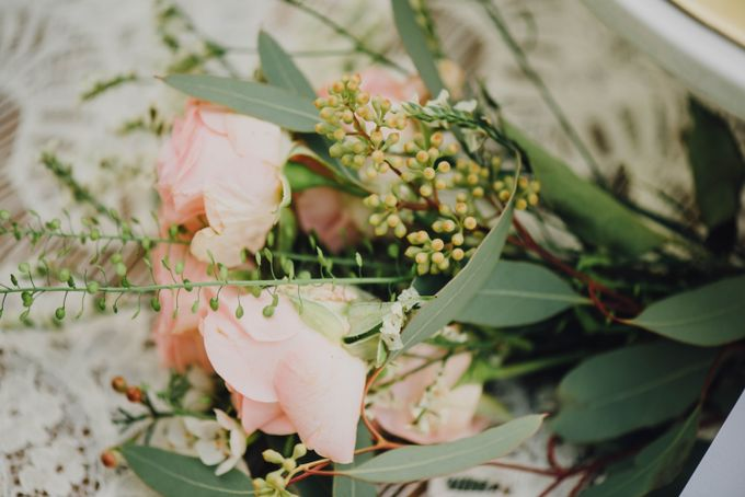 Beauty and the Beast Garden Wedding by Blossoms Bridal & Occasions - 020