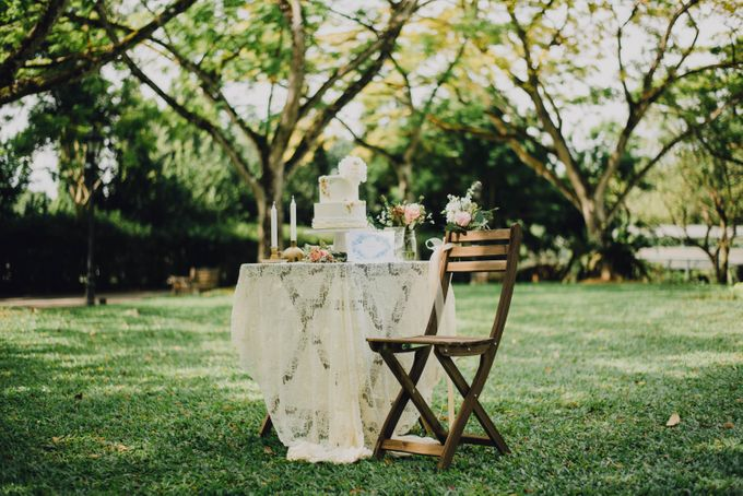 Beauty and the Beast Garden Wedding by Blossoms Bridal & Occasions - 022