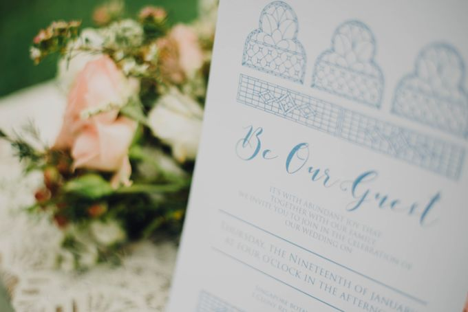 Beauty and the Beast Garden Wedding by Blossoms Bridal & Occasions - 023