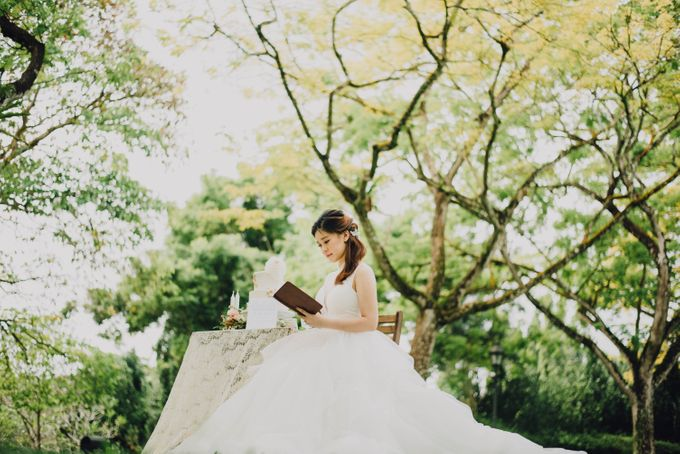 Beauty and the Beast Garden Wedding by Blossoms Bridal & Occasions - 025