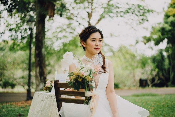 Beauty and the Beast Garden Wedding by Blossoms Bridal & Occasions - 026