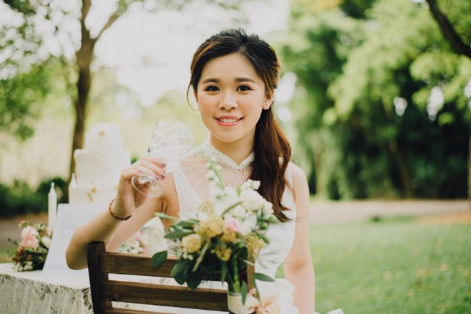 Beauty and the Beast Garden Wedding by Blossoms Bridal & Occasions - 027