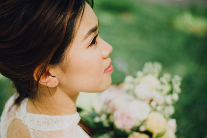 Beauty and the Beast Garden Wedding by Blossoms Bridal & Occasions - 030